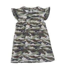 Mud Pie Camo Short Sleeve Dress