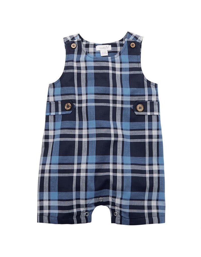 Mud Pie Plaid Shortall
