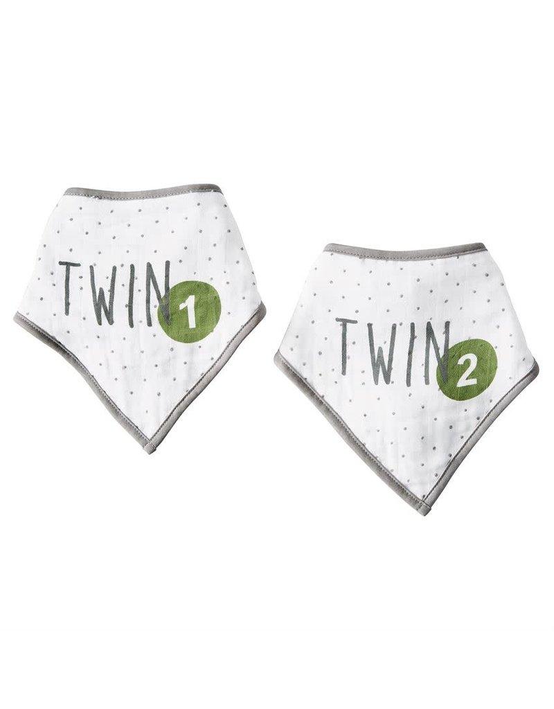Mud Pie Muslin Twin Bandana Bibs