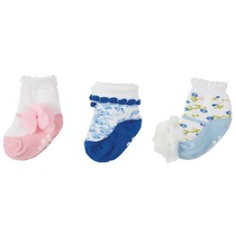 Mud Pie Garden Rose Sock Set