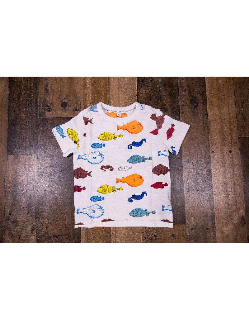 Art & Eden Fish Logan T-Shirt