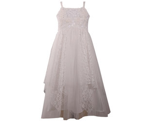 d455dae14 Lace And Pearl Mesh Dress - Peek-a-Bootique