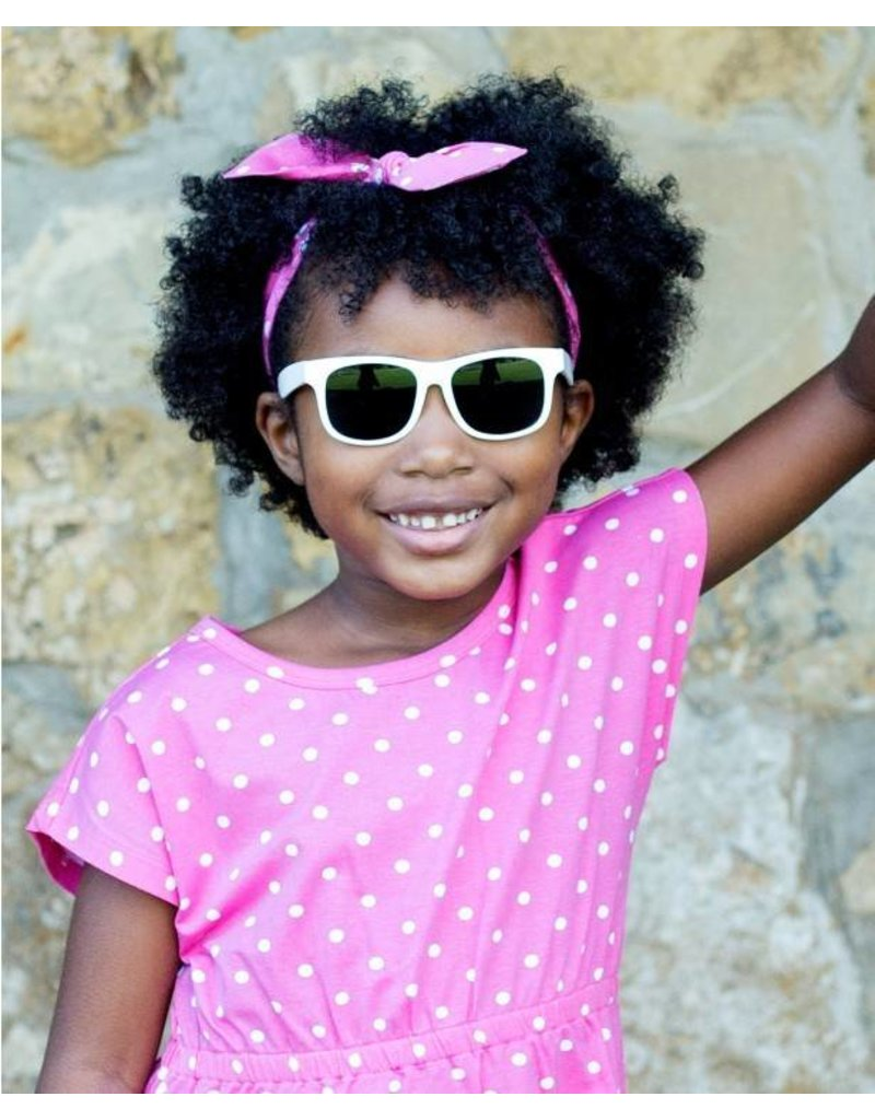 db4fb22d7b1 Ruffle Butts White Wayfarer Sunglasses - Peek-a-Bootique
