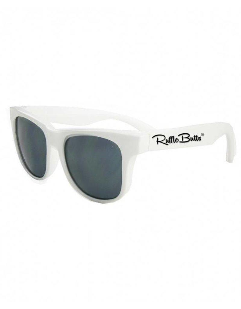 2c1f393233b RuffleButts White Wayfarer Sunglasses RuffleButts White Wayfarer Sunglasses