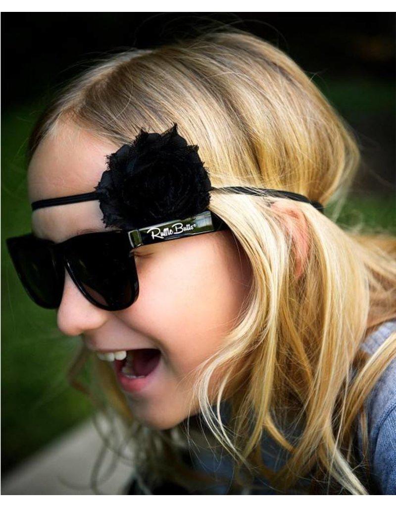 86d472f0f86 Rugged Butts Black Wayfarer Sunglasses - Peek-a-Bootique