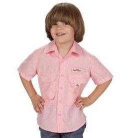 Bull Red Pink Fishing Shirt