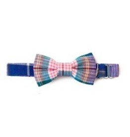 Baby Bowtie Pink, Blue, Purple plaid Bowtie