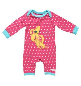 Rocking Baby Babblin' Banana Applique Romper