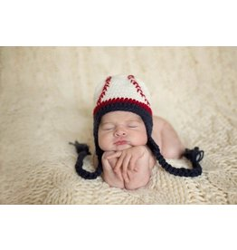 Daisy Baby Baseball Knit Hat