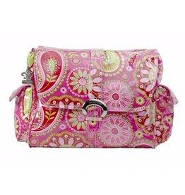Kalencom Cotton Candy Paisley Pink Buckle Diaper Bag