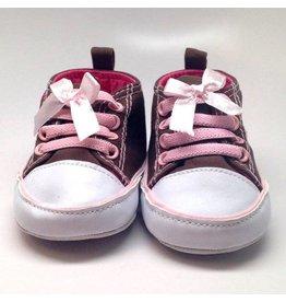 K & K Interiors, Inc. Brown and Pink Sneaker