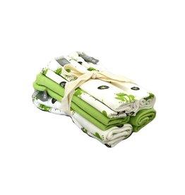 KYTE Grass Pond Washcloths