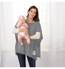 Mud Pie Nursing Poncho One Size