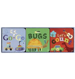 C.R. Gibson Lets Count, Go Go, & Bugs Chunky Book Set