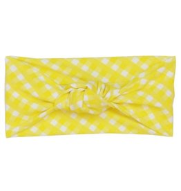 Frou Frou & Company Yellow Gingham Headband