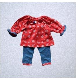 Premie Yums Western Print Shirt And Legging
