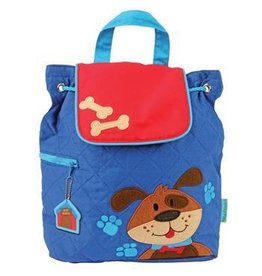 Joseph Stephen Quilted Dog Backpack