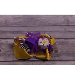 Pixie Friends Purple Feather 5 in Boutique Bow