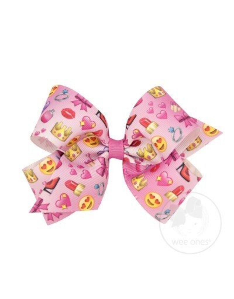 df8474887e0e8 Girly Girl Emoji Bow