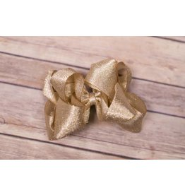 One Stop Bow Shop 5 in Metallic Stacked Bow