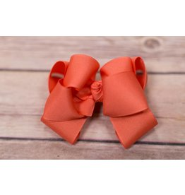 One Stop Bow Shop 4 in Grosgrain stacked bow
