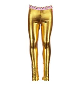 Kidz Art Metallic Gold Leggings