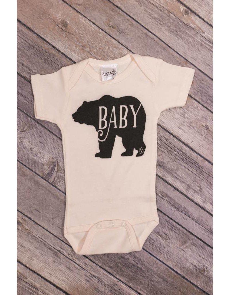 3098b1a4a5a1 Baby Bear Onesie - Peek-a-Bootique