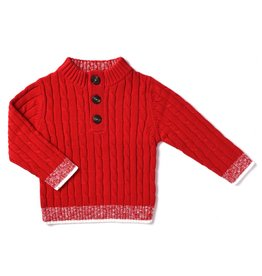Kapital K Cran N' Berry Cable Knit Sweater