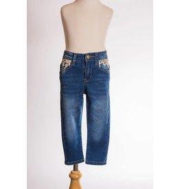 MLKids Skinny Jean with Crochet Detail