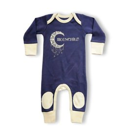 Cat and Dogma Moonchild Navy Blue Playsuit