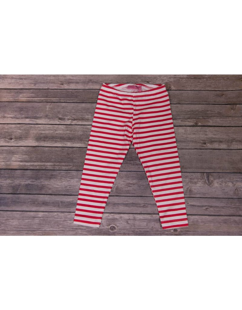 cef5d6967e51f1 Haven Girl Red And White Striped Leggings - Peek-a-Bootique