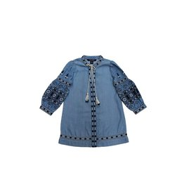 Blu & Blue New York Salma Tassel Embroidered Dress