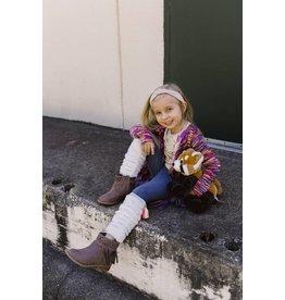 Hannah Bananna Full Length Leggings with Neon Tassel Trims