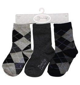 Frenchie Socks 3pc Set