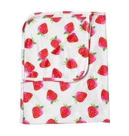 8430d3a04f Baileys Blossoms Strawberry Swaddle Blanket