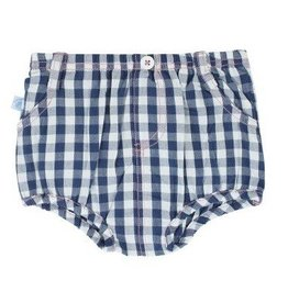 Rugged Butts Navy Gingham Bloomer