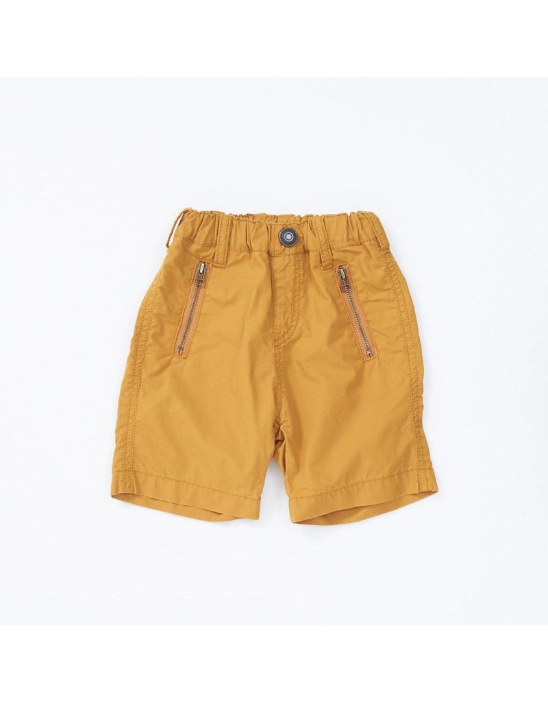 cce9cc19 Bit'z Kids Orange Double Zipper Shorts - Peek-a-Bootique
