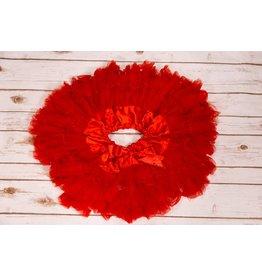 Red Petti Skirt