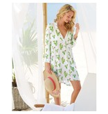 Mud Pie Women's Haven Tunic with Cacti