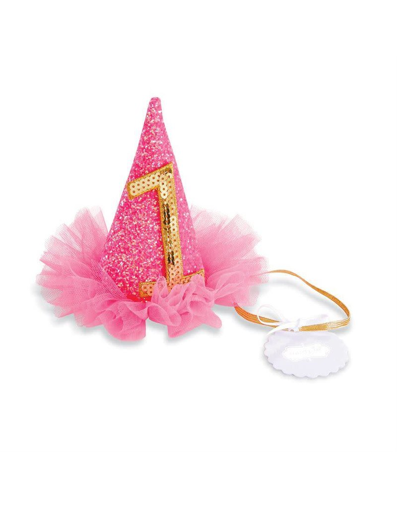 Mud Pie Neon Pink Birthday Hats - Peek-a-Bootique 83e77c8e7a9