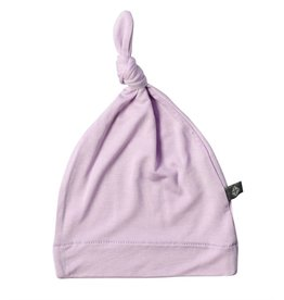KYTE Bamboo Knotted Cap In Mauve