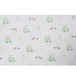 KYTE Panda Printed Bamboo Blanket