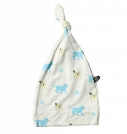 KYTE Puppy Printed Bamboo Knot Cap