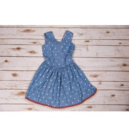 Peas and Queues Tigerlilly Chambray Dress