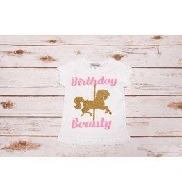 """Reflectionz """"Birthday Beauty"""" Birthday Shirt"""