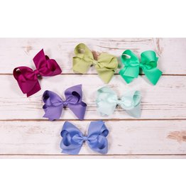 Wee Ones Medium Solid Grosgrain Bow