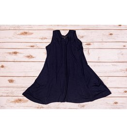 Silver Jeans Navy Blue Dress with Side Pocket