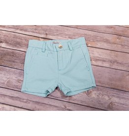 Frenchie Mint Blue Skater Shorts