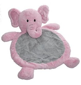 Mary Meyer Baby Pink Elephant Baby Mat