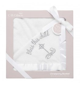 C.R. Gibson Bless This Child Blanket